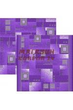 Фиолетовый ковёр Палас dorojki Voronezh 9907