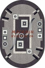 oval silver d043 gray