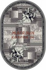 oval silver d182 gray