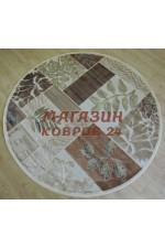 Бельгийский ковер genova 38428_626260 Крем круг