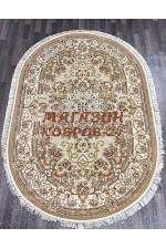 Ковер напольный Kunduz 5135_498550 Бежевый овал