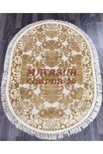Ковер напольный Kunduz 5138_498440 Крем овал