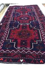 Дагестанский ковер ручной работы 9902 Синий-красный