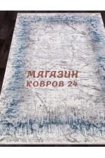 Прикроватный коврик Moda 9800 Серый-голубой