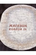 Прикроватный коврик Moda 9805 Серый овал