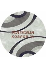 Российский ковер Mega Carving 4783 Серый круг