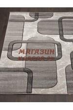 Российский ковер Mega Carving 465 Светло-серый