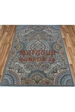 Иранский ковер Abrishim  3843 Голубой