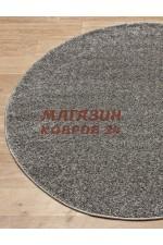 Однотонный ковёр Platinum 600 Серый круг
