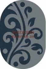 Российский ковер Platinum 621 Голубой овал