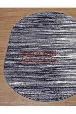 Российский ковер Platinum 623 Голубой овал