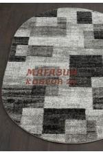 Российский ковер Platinum 632 Серый овал