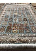 Иранский ковер Mashad 5000 09 Голубой