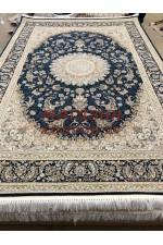 Иранский ковер Mashad 5000 37 Синий