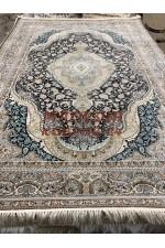 Иранский ковер Mashad 5000 13  Темно-синий