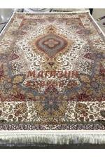 Иранский ковер Abrishim 04 Крем