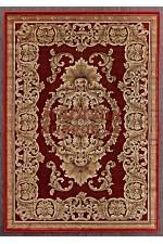 Бельгийский ковер genova 38497 - 121210 Красный
