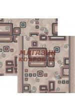 Коричневый палас Палас dorojki Voronezh 9971
