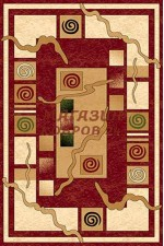 Российский ковер   Anapa olympos d077 red