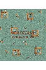 Бирюзовый ковёр vitebs neva vena(620)(1)