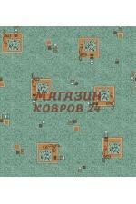 Бирюзовый ковёр vitebs neva vena(620)