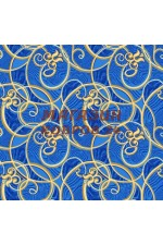 Голубой ковёр vitebs neva yunona(500)